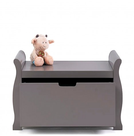 Obaby Stamford Toy Box - Taupe Grey