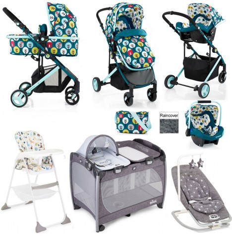 Cosatto / Joie Wish Everything You Need Port Travel System Bundle - Myspace