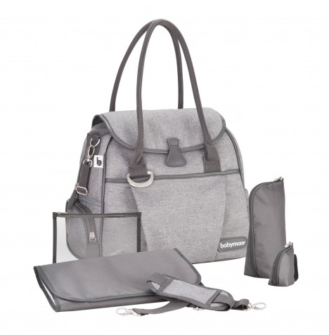 Babymoov Style Changing Bag - Smokey