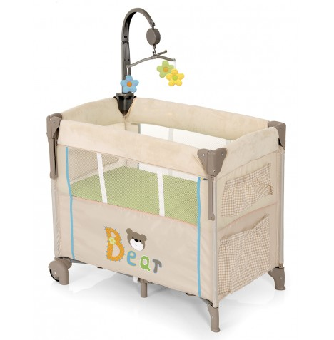 Hauck Dream n Care Center Bassinette Bedside Travel Cot - Bear