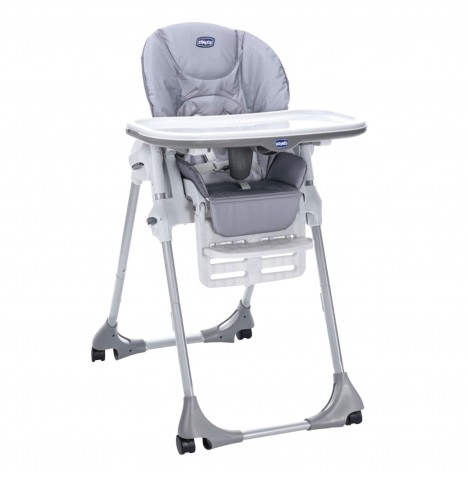 Chicco Polly Easy Baby Highchair (4 Wheel) - Nature