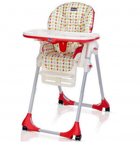 Chicco Polly Easy Highchair (4 Wheel) - Sunrise