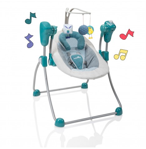 Babymoov Swoon Bubble Baby Swing - Petrol