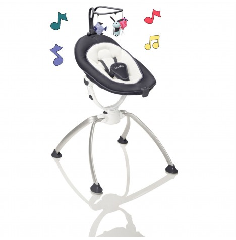 Babymoov Swoon Up Baby Bouncer - Zinc