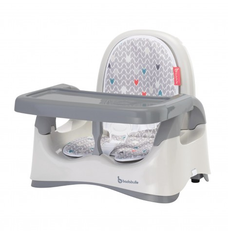 Badabulle Comfort Booster Seat - Grey