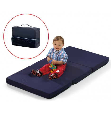 Hauck Sleeper Folding Travel Mattress - Navy Blue