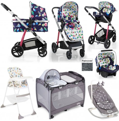 Cosatto / Joie Wow Everything You Need Port Travel System Bundle - Eden