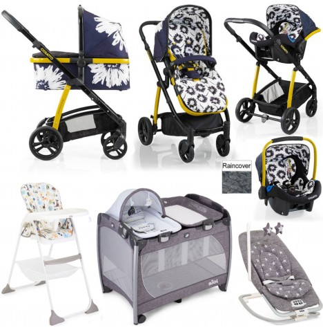 Cosatto / Joie Wow Everything You Need Port Travel System Bundle - Sunburst