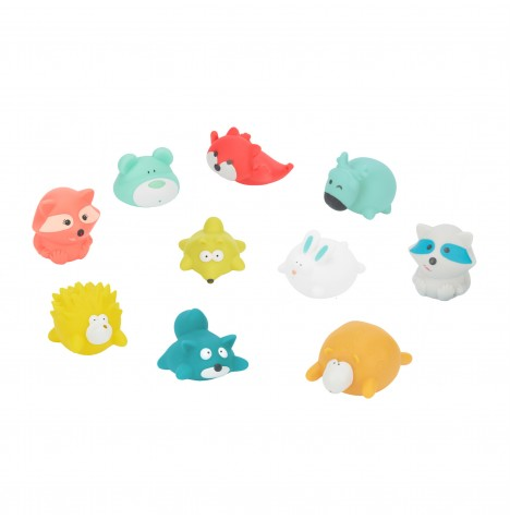 Badabulle Squirter Bath Toys (x10) - Mountain