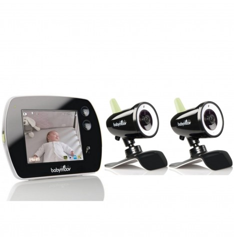 Babymoov Touch Screen Video Monitor & 2x Transmitter / Cameras
