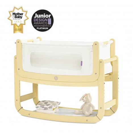 Snuz SnuzPod2 Bedside Crib 3 in 1 With Mattress - Sherbet