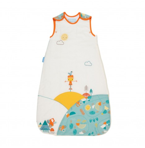The Gro Company 0-6 Months 1 Tog Grobag / Sleeping Bag - Folk Farm