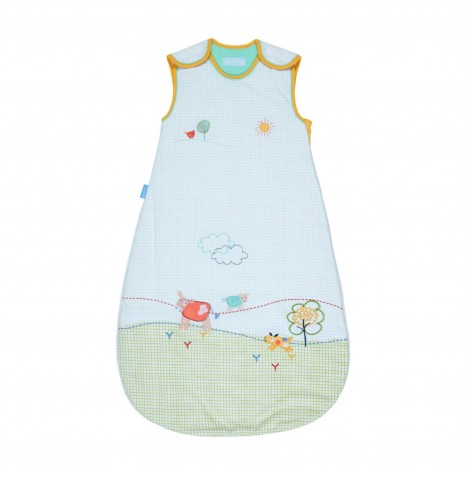The Gro Company 0-6 Months 1 Tog Grobag / Sleeping Bag - Happy Hill