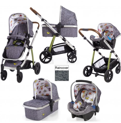 Cosatto Wow 3 in 1 Combi Travel System - Dawn Chorus