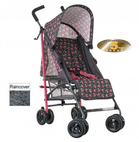Obaby Atlas Stroller - Grey Rose..