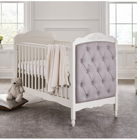 Mee-Go Epernay Cot Bed - Ivory White