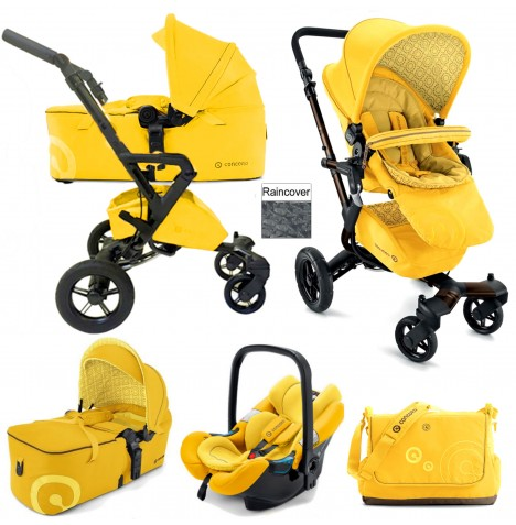 Concord Neo Mobility Set Travel System - Blazing Yellow