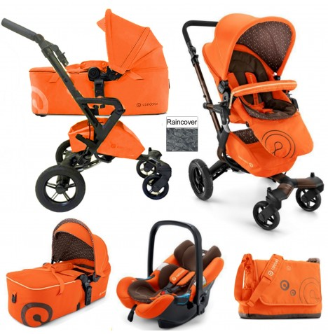 Concord Neo Mobility Set Travel System - Rusty Orange