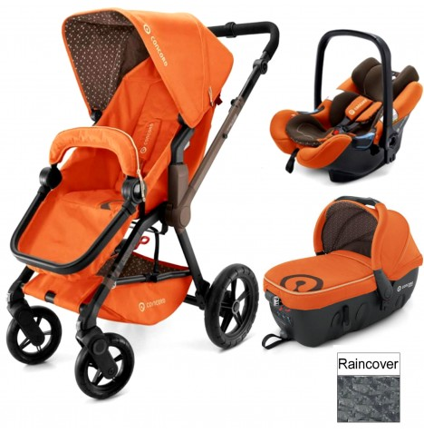 Concord Wanderer Travel Set Travel System - Rusty Orange