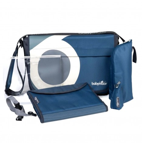 Babymoov Messenger Changing Bag - Petrol Blue
