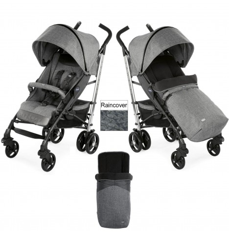 Chicco Special Edition Liteway3 Stroller - Legend