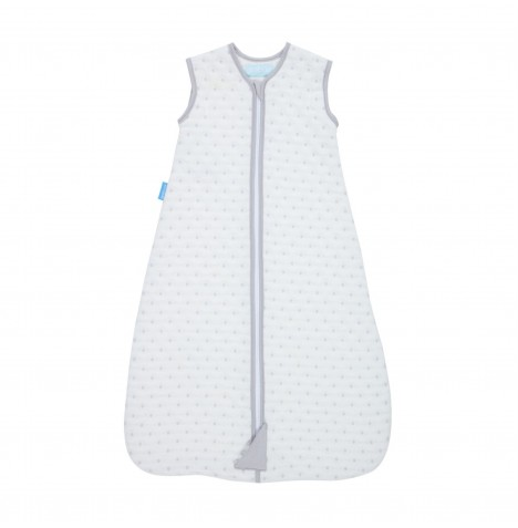 The Gro Company 0-6 Months 2.5 Tog Jacquard Grobag / Sleeping Bag - Grey Circles