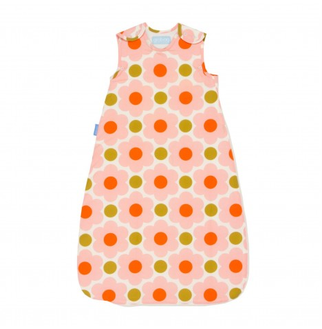 The Gro Company 0-6 Months 1 Tog Orla Kiely Grobag / Sleeping Bag - Daisy Spot Flower