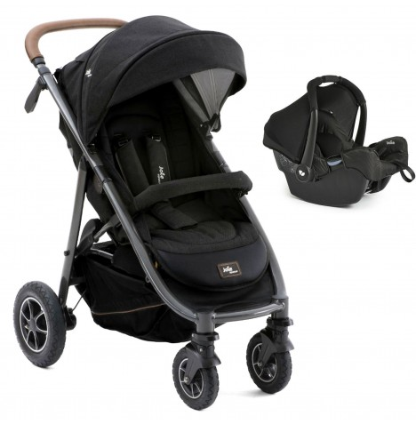 Joie Limited Edition MyTrax Flex (Gemm) Travel System - Signature Noir