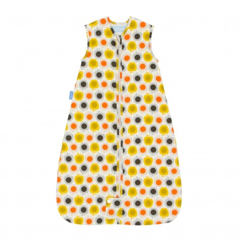 The Gro Company 0-6 Months 2.5 Tog Orla Kiely Travel Grobag / Sleeping Bag - Apple