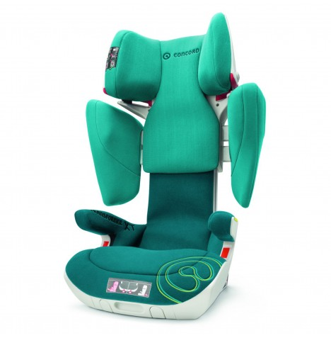 Concord Transformer XT Group 2/3 IsoFix Car Seat - Scuba Green