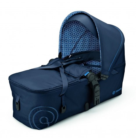 Concord Scout Folding Carrycot - Deep Water Blue