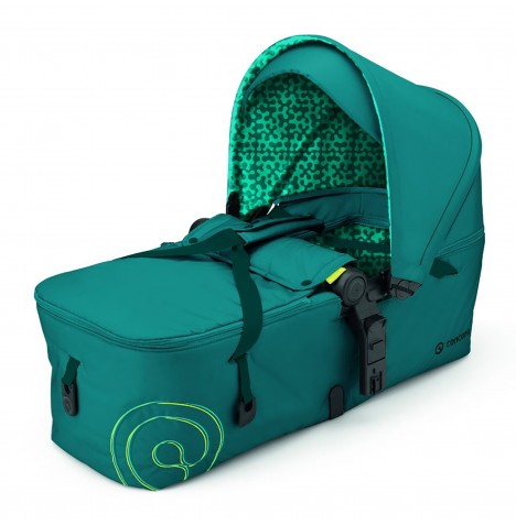 Concord Scout Folding Carrycot - Scuba Green