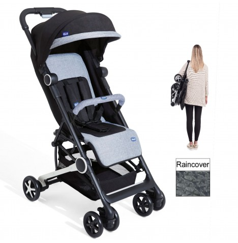Chicco MiiniMo MiniMo 2 Stroller - Black Night