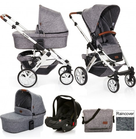 ABC Design Salsa 4 Travel System & Carrycot - Race