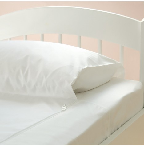 The Gro Company GroToBed Cot Bed Spare Fitted Sheet - White