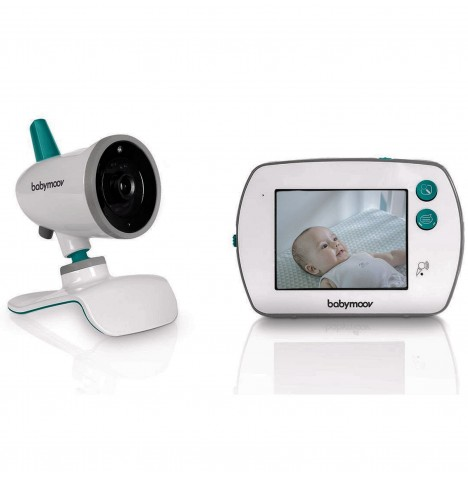 Babymoov YOO-Feel Touch Screen Video Baby Monitor - White