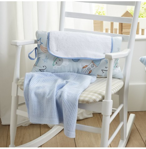 Clair De Lune Roly Poly Travel & Change Mat - Forty Winks