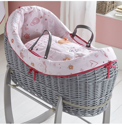 Clair De Lune Grey Wicker Wrapover Noah Pod - Tippy Toes
