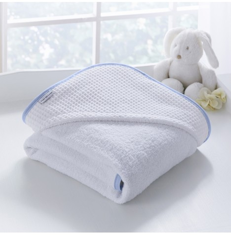 Clair De Lune Luxury Hooded Towel - Over The Moon Blue