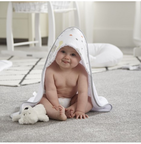 Clair De Lune Luxury Hooded Towel - Sleep Tight