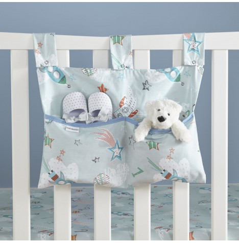 Clair De Lune Large Nursery Tidy / Cot Pocket - Forty Winks