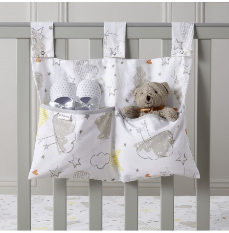 Clair De Lune Large Nursery Tidy / Cot Pocket - Sleep Tight