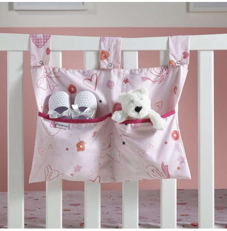 Clair De Lune Large Nursery Tidy / Cot Pocket - Tippy Toes