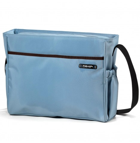 Hauck Lady Changing Bag - Blue / Brown