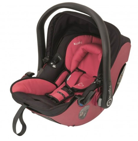 Kiddy Evolution Pro 2 Group 0+ Car Seat - Cranberry
