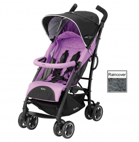Kiddy City N Move Pushchair Stroller - Lavender