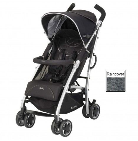 Kiddy City N Move Pushchair Stroller - Phantom