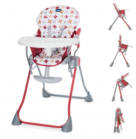 Chicco Pocket Meal Highchair - Red..
