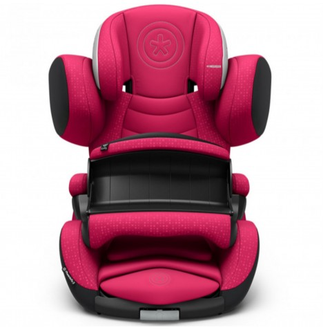 Kiddy Phoenixfix 3 Group 1 Isofix Car Seat - Berry Pink