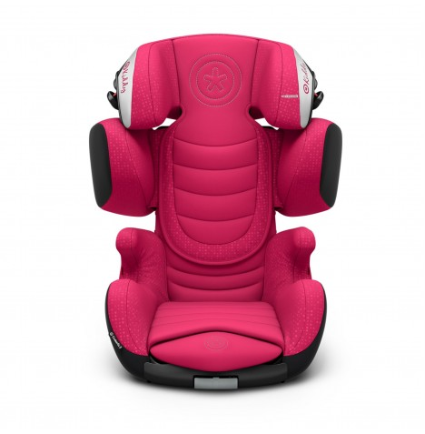 Kiddy Cruiserfix 3 Group 2,3 Isofix Car Seat - Berry Pink